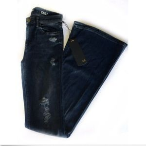 NEW Made Gold DUST Flare Jeans Sz 26